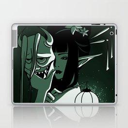 Noh Mask - Hannya Laptop & iPad Skin