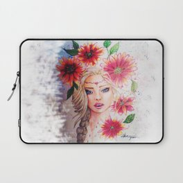 Blond girl Laptop Sleeve