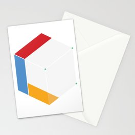 Premade Logo - Cube Connected Stationery Cards