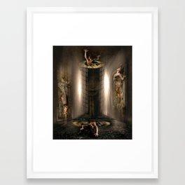 final enigma Framed Art Print