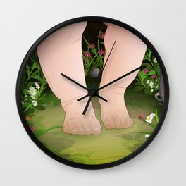 Baby Steps Wall Clock