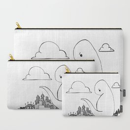 Angry Dino Carry-All Pouch