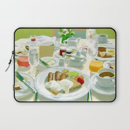 Breakfast at a Hotel Laptop Sleeve
