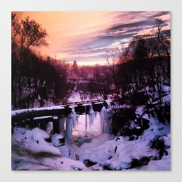Wappingers Falls Sunset Canvas Print