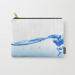 Blue Water Wave Carry-All Pouch