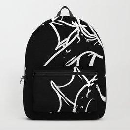Halloween Monster Tentacle Squid Backpack