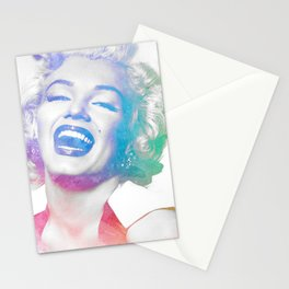 Colorful Marilyn  Stationery Cards