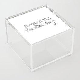 Sometimes Fancy Acrylic Box