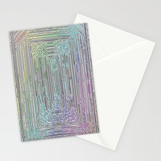 Free Rainbow Border Stationery Cards