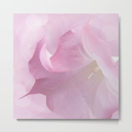 Pink Moonflower Metal Print
