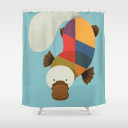 Platypus Shower Curtain