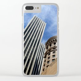 Hobart in the Sky Without Diamonds Clear iPhone Case