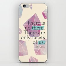 Facets of Us iPhone & iPod Skin