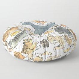 cats !!! Floor Pillow