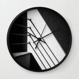 Garagescape Detail 1 Wall Clock