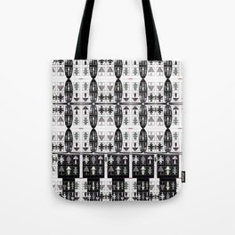 Internet of Everything Optical Illusions Tote Bag