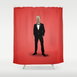 I Am Not Famous Anymore Shower Curtain