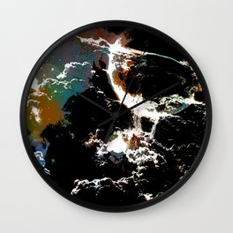 Asphyxia Wall Clock