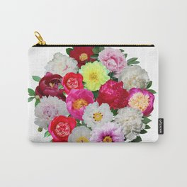 Peony Extravaganza Carry-All Pouch