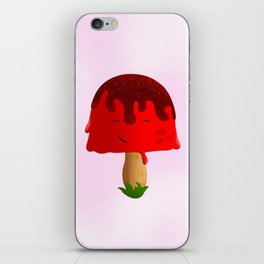 Frozen Mushroom iPhone Skin