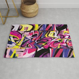 PAGER Mural Abstract Royal Stain Rug