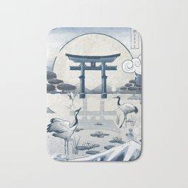 Japan Vintage Torii Gate Bath Mat
