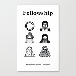 Fellowship of Icons Canvas Print