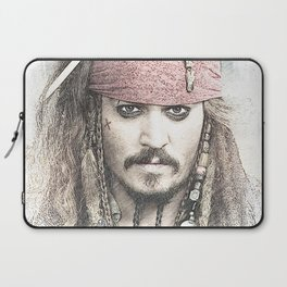 Cpt. Jack Sparrow Laptop Sleeve