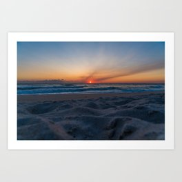 Cape Canaveral Sunrise Art Print