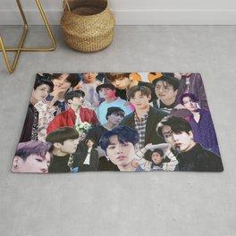 Jungkook BTS collage Rug