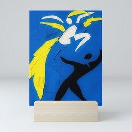 Rare Henri Matisse - Two Dancers Cut-Out Series portrait painting Mini Art Print