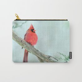 Elegant Cardinal Carry-All Pouch