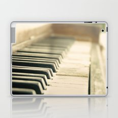 Tickling The Ivories Abandoned Piano Urban Exploration, Urbex, Music, Musical Instrument Laptop & iPad Skin