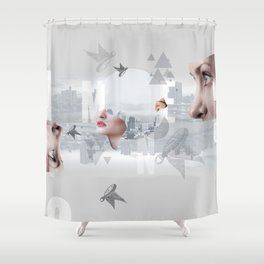 Whomen Shower Curtain
