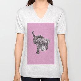 Labrador Puppy Unisex V-Neck