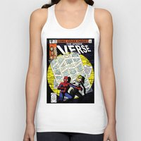 verse Tank Tops featuring Days of Spider Verse by Chance L