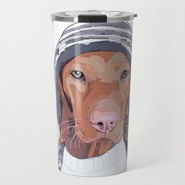 Vizsla Dog Travel Mug