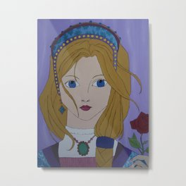 Catherine Howard Metal Print