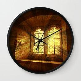 St Saviours Window. Wall Clock