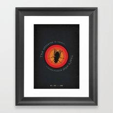 Breaking Bad - Fly Framed Art Print