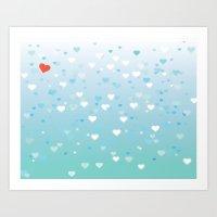Lots of Love Art Print