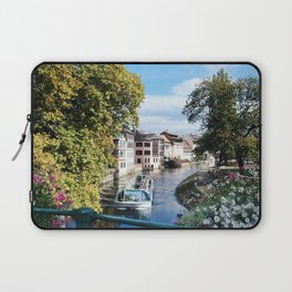 Strasbourg River View Laptop Sleeve