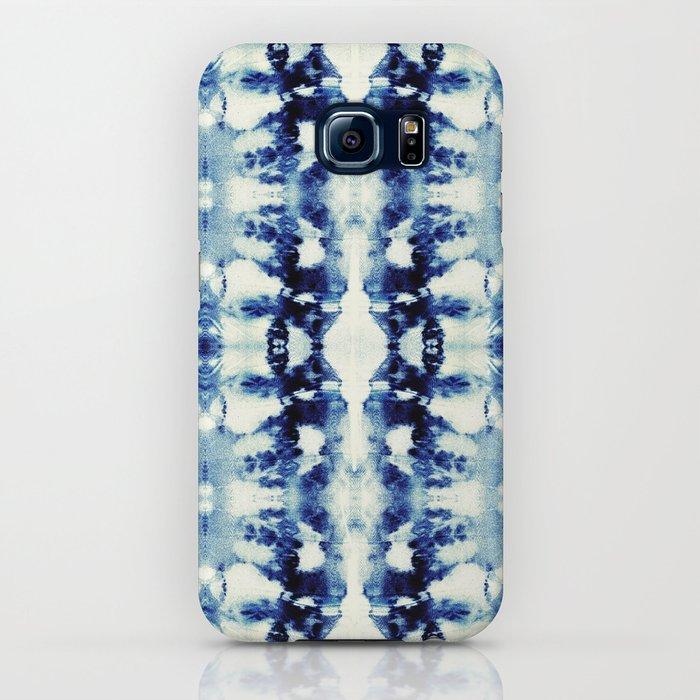 Tie Dye Blues iPhone Case