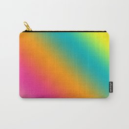 Blended Rainbow Time To Feel Good Carry-All Pouch