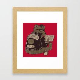 Introverts Club Framed Art Print