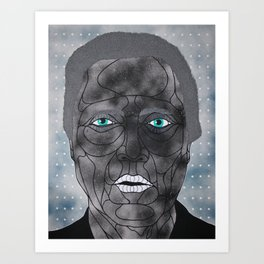 Walken Art Print