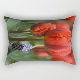 We Belong Together, Holland Tulips by Karen Images Rectangular Pillow