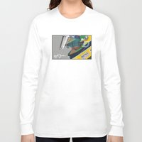 senna Long Sleeve T-shirts featuring Senna Meditation by Borja Sanz