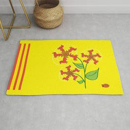 Doxie Flower Rug
