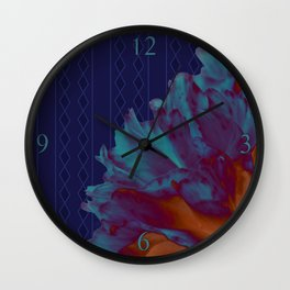 The Carnation Experiment Wall Clock
